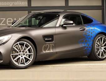 Highlight: Vollfolierung Mercedes AMG GT (Video)